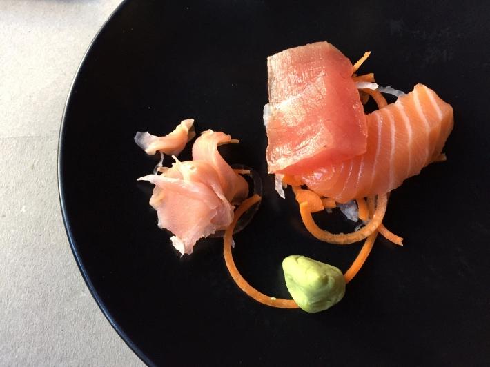 Sashimi de Salmón y Atún