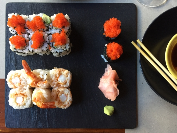 Flying Fish, Flying California Maki y Zhoumaki